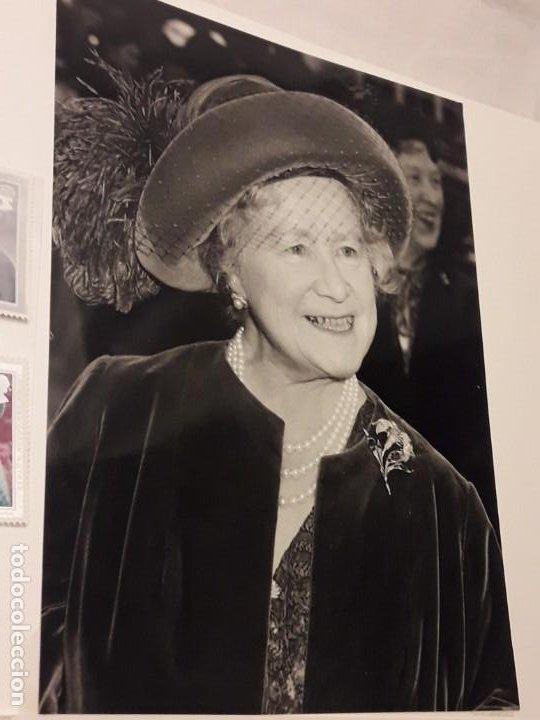 Sellos: Edición especial conmemorativa Reina Madre Elizabeth London Picture Service - Foto 6 - 184780097