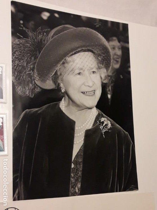 Sellos: Edición especial conmemorativa Reina Madre Elizabeth London Picture Service - Foto 7 - 184780097
