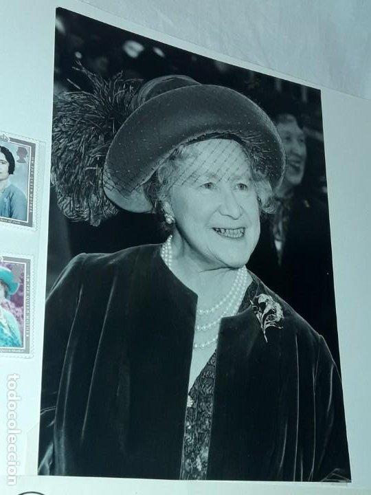Sellos: Edición especial conmemorativa Reina Madre Elizabeth London Picture Service - Foto 8 - 184780097