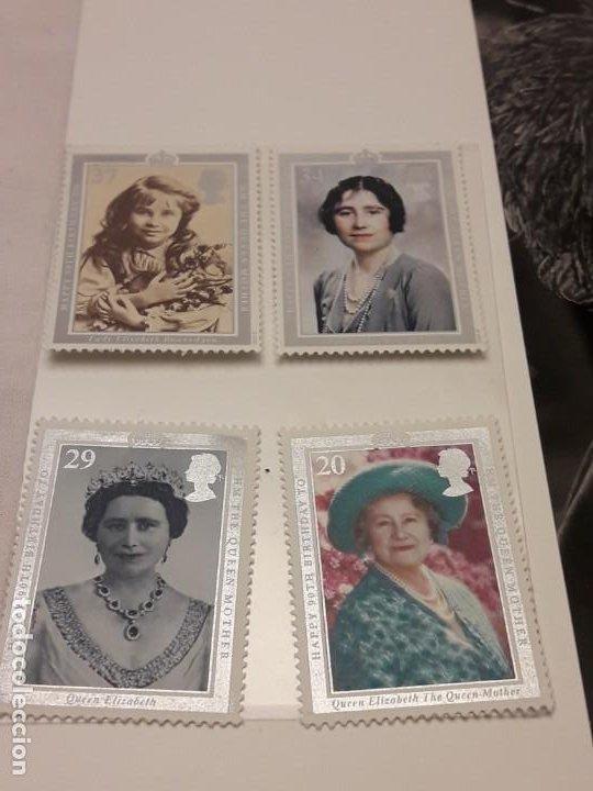 Sellos: Edición especial conmemorativa Reina Madre Elizabeth London Picture Service - Foto 9 - 184780097