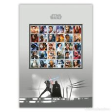 Sellos: GREAT BRITAIN 2019 - STAR WARS III COMPLETE STAMP SET MOUNT. Lote 185936235