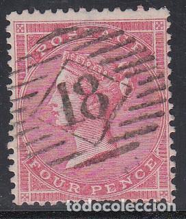 GRAN BRETAÑA, 1855-57 YVERT Nº 18 (Sellos - Extranjero - Europa - Gran Bretaña)