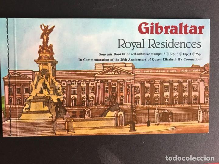 GIBRALTAR 1978 25 ANIVERSARIO. CARNET (Sellos - Extranjero - Europa - Gran Bretaña)
