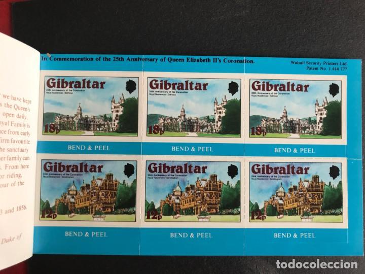 Sellos: Gibraltar 1978 25 Aniversario. Carnet - Foto 2 - 188505282