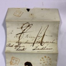 Sellos: 1834. CARTA DE LIVERPOOL A CORK. . Lote 191462640