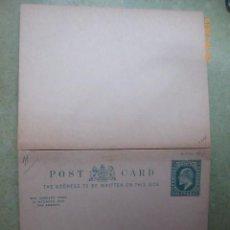 Sellos: POST CARD,HALFPENNY, , NUEVO SIN CIRCULAR, DOBLE,. Lote 191564722