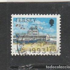 Sellos: JERSEY 1989 - YVERT NRO. 466 - USADO - . Lote 192985706