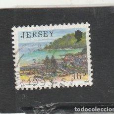 Sellos: JERSEY 1989 - YVERT NRO. 465 - USADO - . Lote 192985730