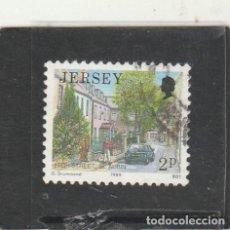 Sellos: JERSEY 1989 - YVERT NRO. 458 - USADO - . Lote 192985843