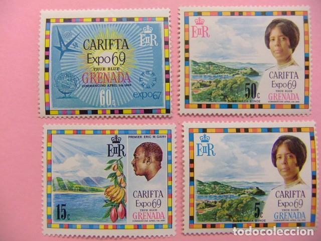 GRENADE GRENADA 1969 EXPOSITION CARIFTA YVERT 298 / 301 ** MNH (Sellos - Extranjero - Europa - Gran Bretaña)