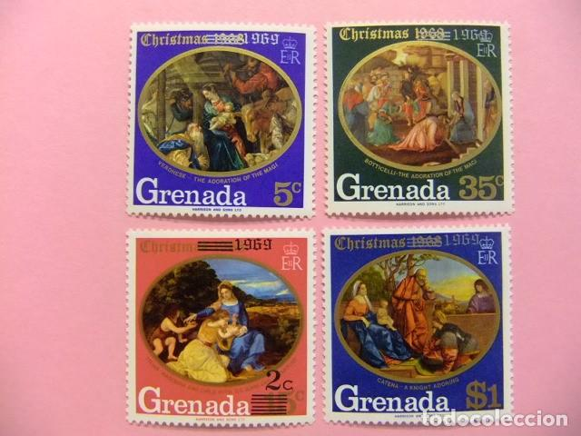 GRENADE GRENADA 1969 NAVIDAD NOËL YVERT 323 / 326 ** MNH (Sellos - Extranjero - Europa - Gran Bretaña)
