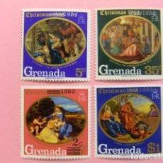 Sellos: GRENADE GRENADA 1969 NAVIDAD NOËL YVERT 323 / 326 ** MNH. Lote 194231062