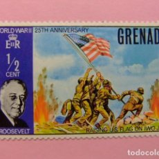 Sellos: GRENADE GRENADA 1970 25 ANIVERSARIO DE FIN 2 GUERRA MUNDIAL YVERT 348 ** MNH. Lote 194231938