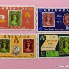 Sellos: GRENADE GRENADA 1971 110 ANIVERSARIO DE SERVICIO POSTAL YVERT 348 ** MNH. Lote 194233382