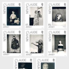 Sellos: JERSEY 2020 - JERSEY ARTISTS - CLAUDE CAHUN STAMP SET MNH. Lote 194341867