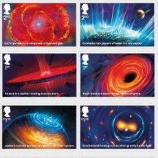 Sellos: GRAN BRETAÑA 2020 VISIONES DEL UNIVERSO SET DE 8V. MNH SG 4322-29. Lote 194492016