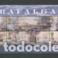 Sellos: HB** DE GRAN BRETAÑA YT 35 BATALLA DE TRAFALGAR. Lote 194618183