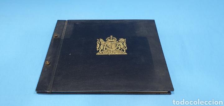 ALBUM DE SELLOS POSTAL UNION CONGRESS BRUSSELS 1952. BRITISH POSTAGE STAMPS (Sellos - Extranjero - Europa - Gran Bretaña)