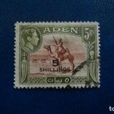 Sellos: /23.02/-ADEN / COLONIA BRITANICA-1951-5S.. S. 5R. Y&T 44 EN USADO /º/. Lote 195004487