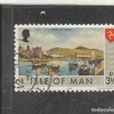 Sellos: ISLA DE MAN 1973 - YVERT NRO. 8 - USADO - . Lote 195148390