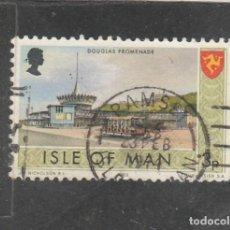 Sellos: ISLA DE MAN 1973 - YVERT NRO. 7 - USADO - . Lote 195148432