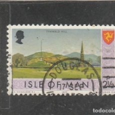 Sellos: ISLA DE MAN 1973 - YVERT NRO. 6 - USADO - . Lote 195148456