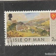Sellos: ISLA DE MAN 1973 - YVERT NRO. 5 - USADO - . Lote 195148483