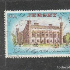 Sellos: JERSEY 1977 - YVERT NRO. 163 - USADO . Lote 195587892