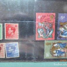 Sellos: SERIES INGLATERRA USADOS (2), . Lote 195927318