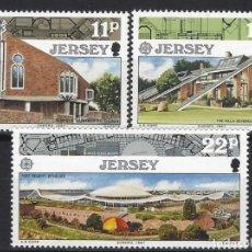Sellos: JERSEY 1987 - EUROPA - S.COMPLETA - SELLOS NUEVOS **. Lote 197700081