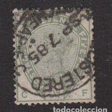 Sellos: GRAN BRETAÑA SELLO USADO NUM 82 CAT. 150E. Lote 198029180