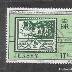 Sellos: JERSEY 1993 - YVERT NRO. 617 - USADO . Lote 198092596