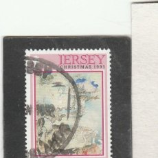 Sellos: JERSEY 1991 - YVERT NRO. 554 - USADO. Lote 198093753