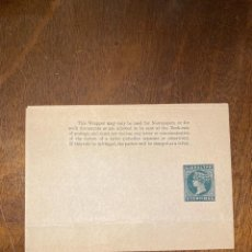 Sellos: FAJA POSTAL. GIBRALTAR. 5 CENTIMOS. VER FOTO. Lote 198200850