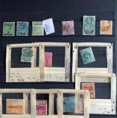 Sellos: LOTE GRAN BRETAÑA Y COLONIAS. 1858-1969. Lote 199289527