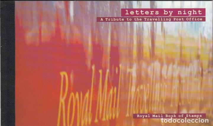 GRAN BRETAÑA - 2000 - CARNET DE PRESTIGIO LETTERS BY NIGHT - VER IMAGENES (Sellos - Extranjero - Europa - Gran Bretaña)
