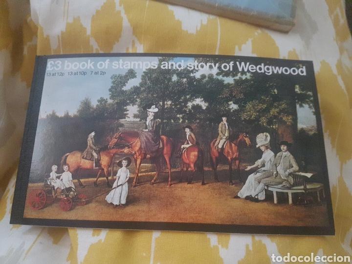 CARNET SELLOS INGLATERRA REINO CARNET DE SELLOS STORY OF WEDGWOOD H (Sellos - Extranjero - Europa - Gran Bretaña)