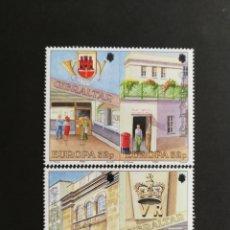 Sellos: GIBRALTAR, EUROPA CEPT 1990 MNH, ESTABLECIMIENTOS POSTALES (FOTOGRAFÍA REAL). Lote 203454678