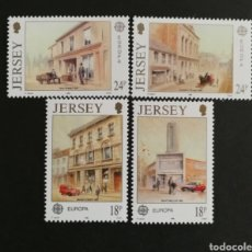 Sellos: JERSEY, EUROPA CEPT 1990 MNH, ESTABLECIMIENTOS POSTALES (FOTOGRAFÍA REAL). Lote 203456597