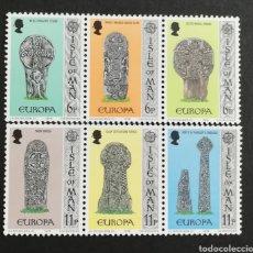 Francobolli: ISLA DE MAN, EUROPA CEPT 1978 MNH (FOTOGRAFÍA REAL). Lote 204821663