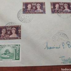 Sellos: TÁNGER 1937 CORREOS CORONACIÓN DE. GEORGE VI.. Lote 206242530