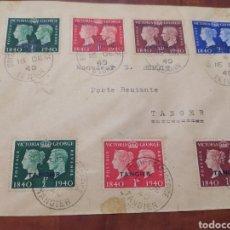 Sellos: CORREOS TÁNGER TETUÁN 1940. Lote 206242745