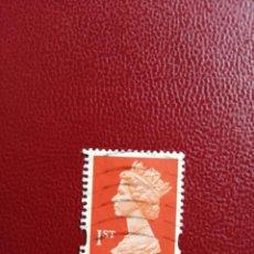 Sellos: GRAN BRETAÑA - VALOR FACIAL I ST - REINA ISABEL II - AÑO 1993 - SG, NRO. 1671. Lote 206408108