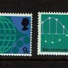 Sellos: TECNOLOGIA DE CORREOS. SERIE SELLOS UK GRAN BRETAÑA. INGLATERRA 1969.BRITISH POST OFFICETECHNOLOGY. Lote 207866187