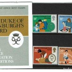 Sellos: SERIE PREMIOS DUKE DE EDINBURGO 1981. NUEVOS.. Lote 207974383