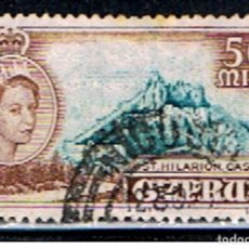 Timbres: CHIPRE. EXCOLONIA GRAN BRETAÑA // YVERT 166 // 1955 ... USADO. Lote 210027576