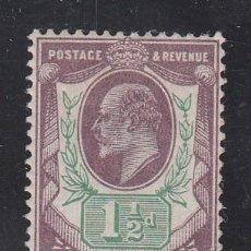 Sellos: GRAN BRETAÑA, 1902-10 YVERT Nº 108 /*/, REY EDUARDO VII,. Lote 212124201