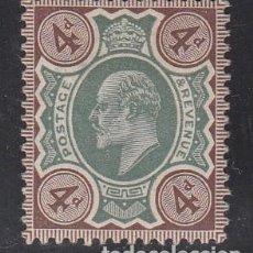 Sellos: GRAN BRETAÑA, 1902-10 YVERT Nº 112 /*/, REY EDUARDO VII,. Lote 212124236
