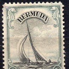 Sellos: BERMUDA/1936/MH/SC#108/ YATE LUCIE / BOTES / BARCOS / VELEROS. Lote 213391817