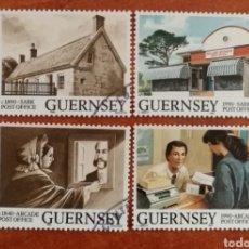 Timbres: GUERNESEY, EUROPA CEPT 1990 USADO (FOTOGRAFÍA REAL). Lote 213730005